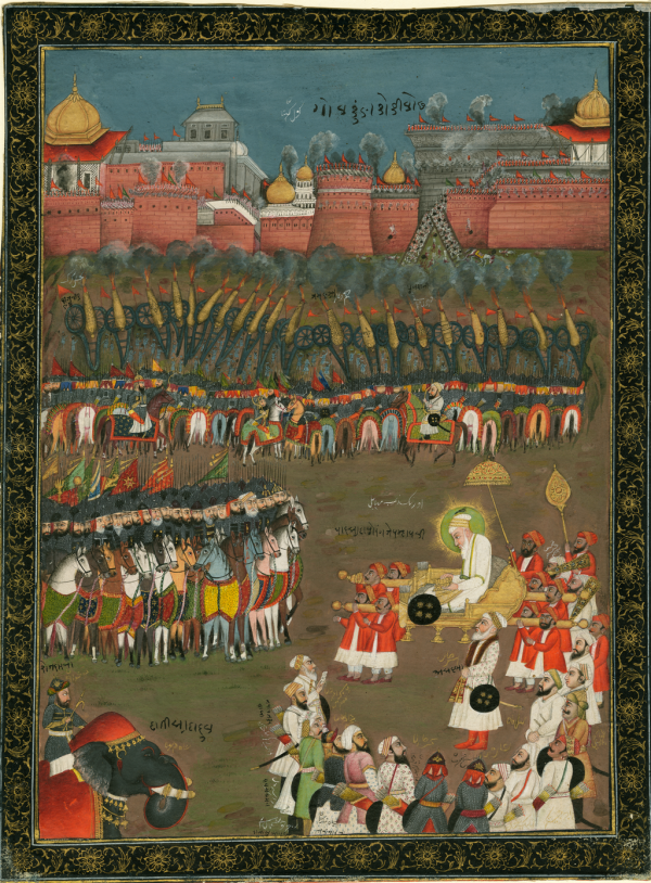Siege of Golconda image