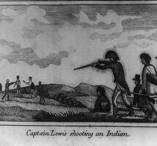 Image: Illustration made by Patrick Gass in 1810. From the Library of Congress.