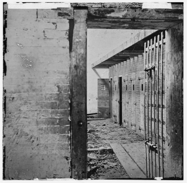 Photo of a Slave Pen in Virginia