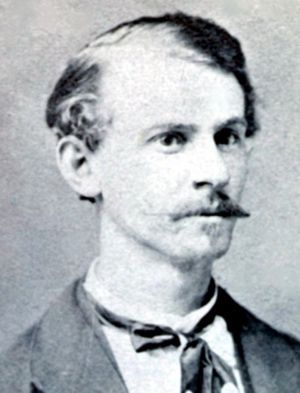 Image: Photo of Albert Parsons taken in 1880. From the Wikimedia Commons.