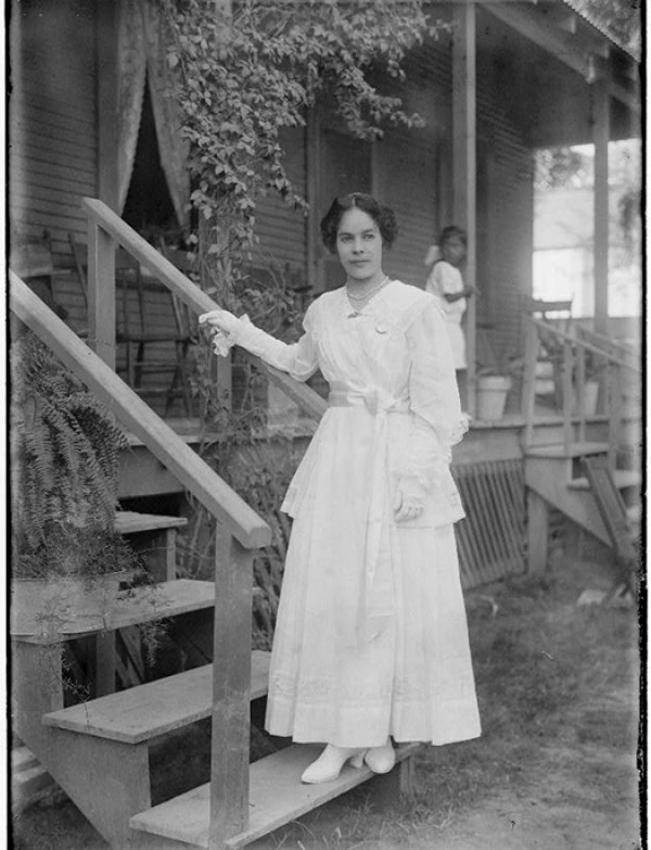 Photo of Mexican American in Deming, New Mexico, circa 1910-1919.