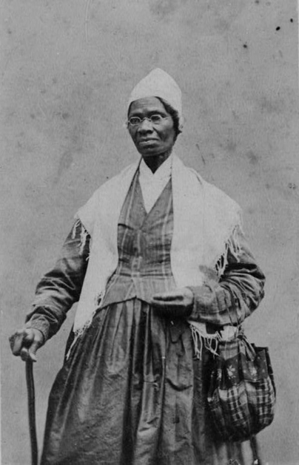 Image: Photograph of Sojourner Truth taken taken 1864. From the Library of Congress.