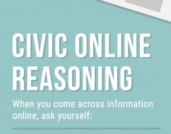Civic Online Reasoning Classroom Poster