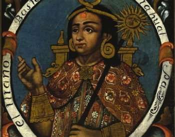 Image source: Portrait of Atahualpa from Peru in the mid-18th century. Retrieved from the Brooklyn Museum.