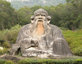 Image: Statue of Laozi in Quanzhou, China. Photo taken by Tommy Wong in 2007. From Flickr.