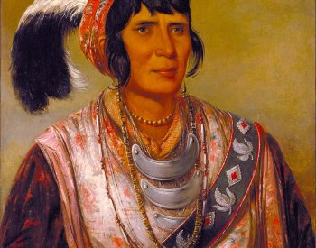 Image: Painting of Seminole Chief Osceola by George Catlin, 1838. From the Wikimedia Commons.