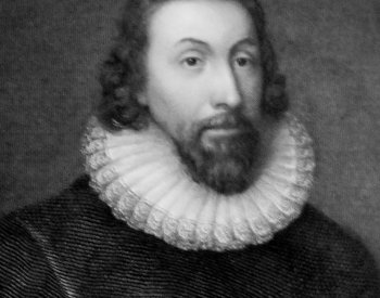 Image: Lithograph of John Winthrop made by Anthony Vandyke in the 17th century. From the Wikimedia Commons.