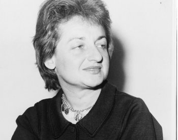 Image: Photo of Betty Friedan by Fred Palumbo, 1960. From the Library of Congress.