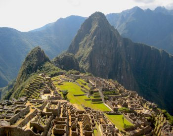 Image: Photo of Macchu Picchu taken in 2007. From the Wikimedia Commons.